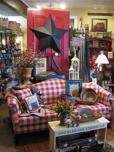 Farmhouse Amp Country Primitive Upholstered Furniture